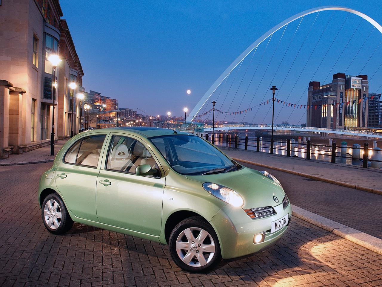Автомобили для женщин. Nissan Micra