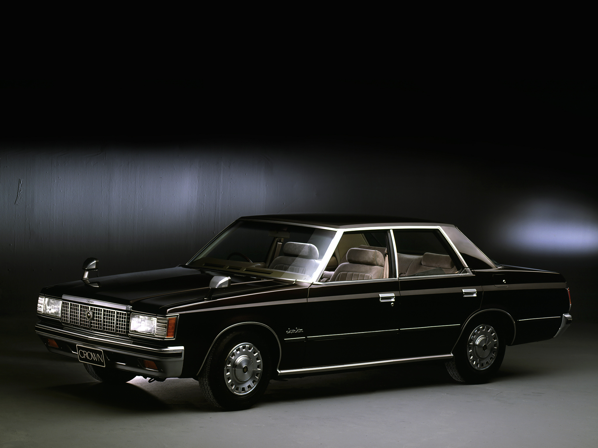 Profile of toyota crown 2600